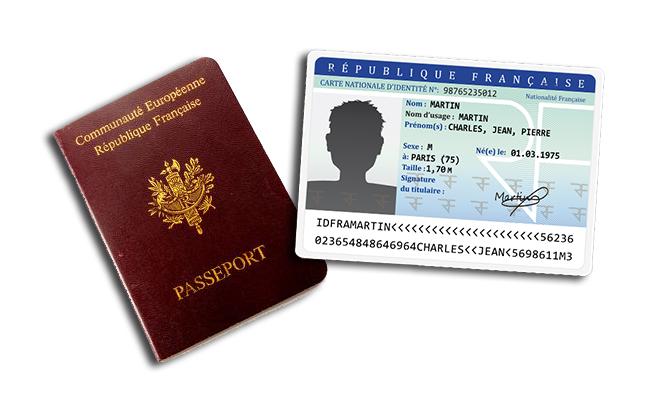 Passeports et carte d'identité