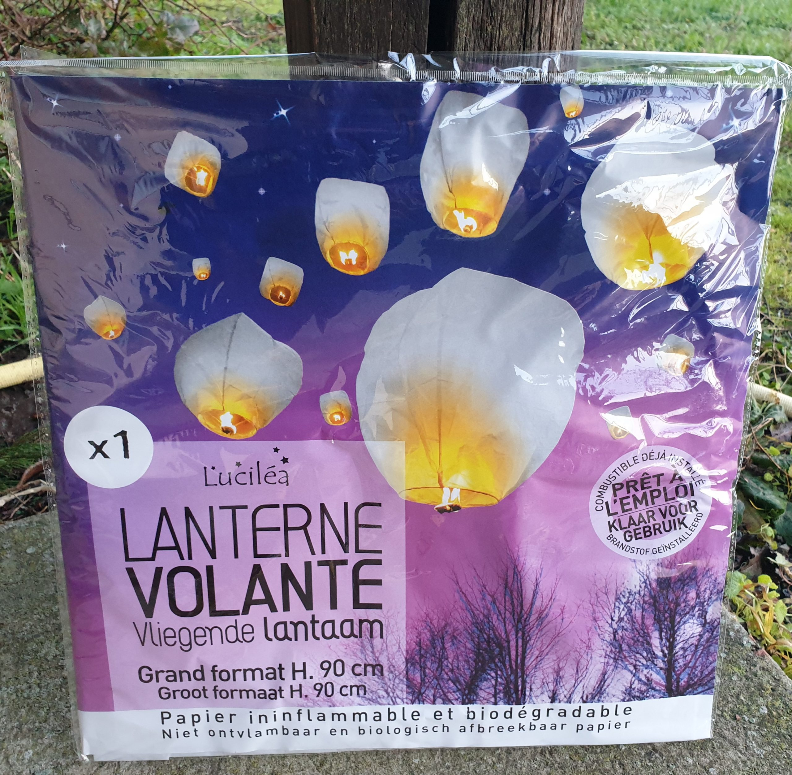 Lâché de lanterne
