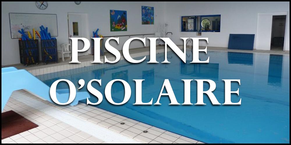 piscine o'solaire
