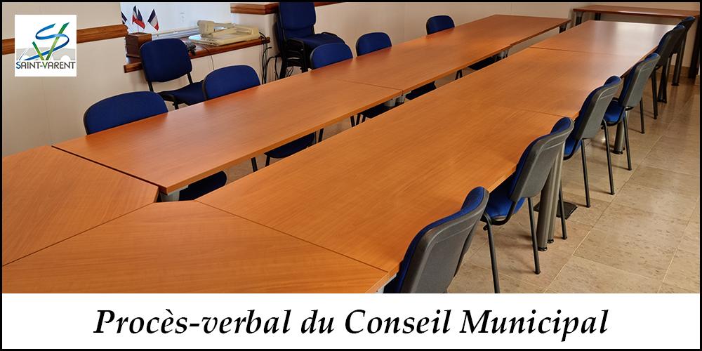 Conseil Municipal du 23 mars 2021