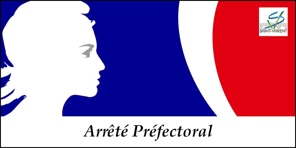 Miniatures articles Arrêté Préfectoral